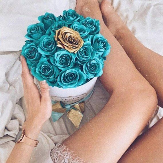 Тиффани розы в коробке
