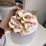 Букет белых калл Букеты Белые Venus in Fleurs