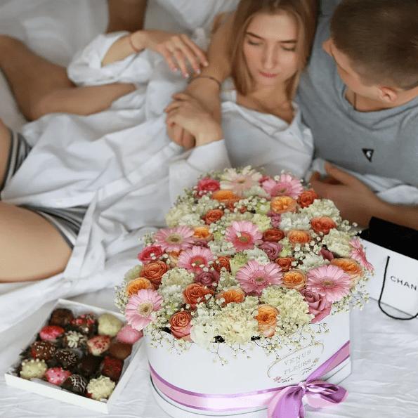 Venus in Fleurs - доставка цветов ручной работы Москва