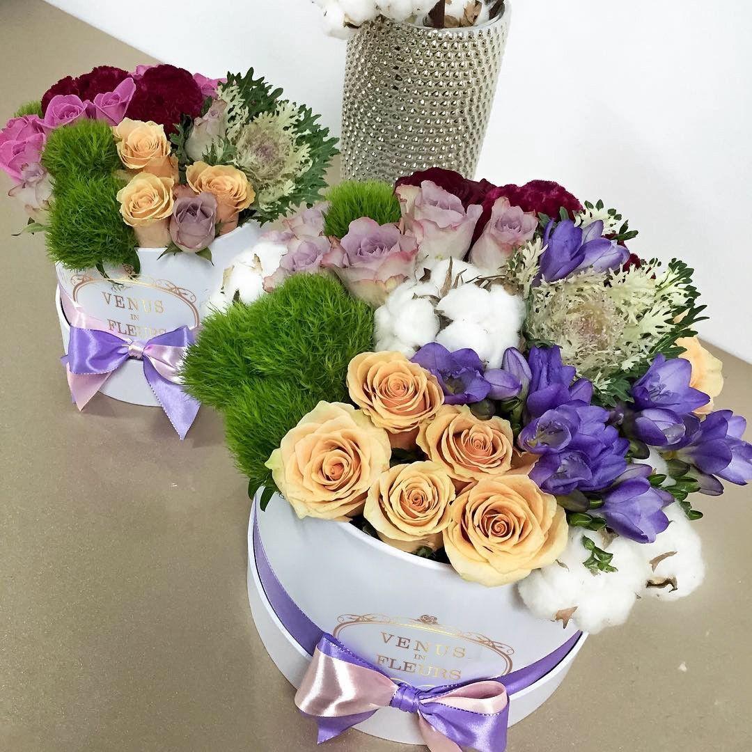 """Букет """"Кофейный микс"""" Кофейные розы Фиолетовые Venus in Fleurs"""