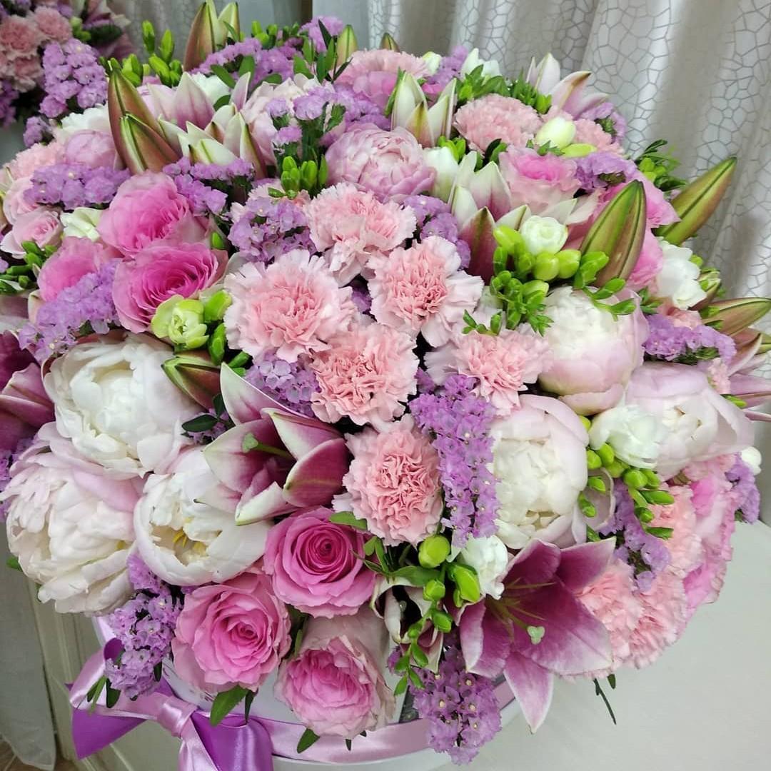 "Композиция ""Sense of Love"" VIP букеты Розовые Venus in Fleurs"