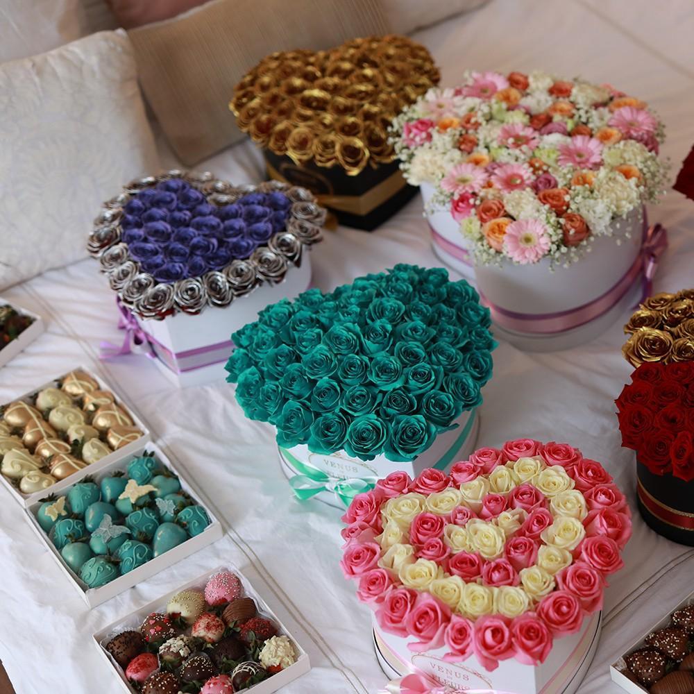 "Клубника в шоколаде ""Темный шоколад"" Клубника в шоколаде Venus in Fleurs"