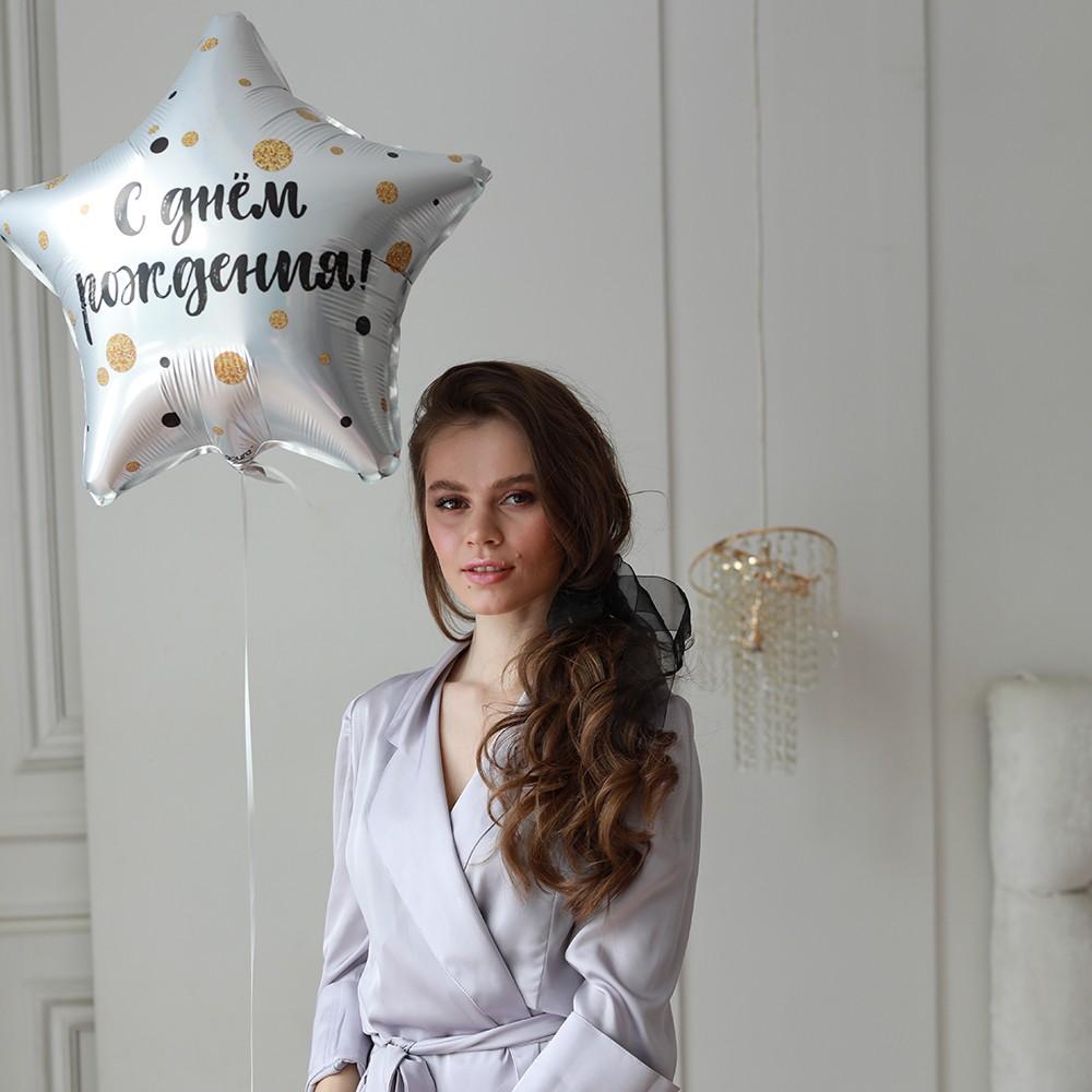 Шар звезда - С днём рождения Шары Venus in Fleurs