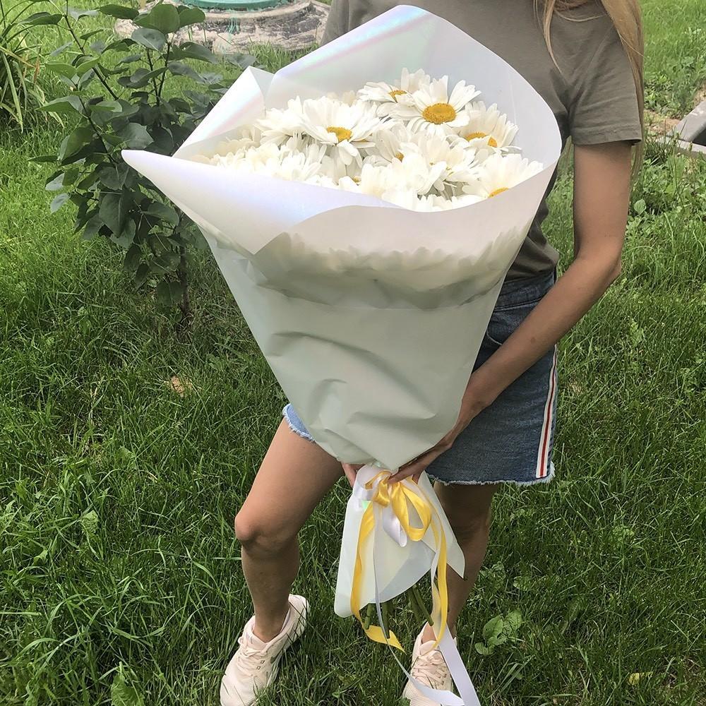 Букет крупных ромашек Букеты Белые Venus in Fleurs