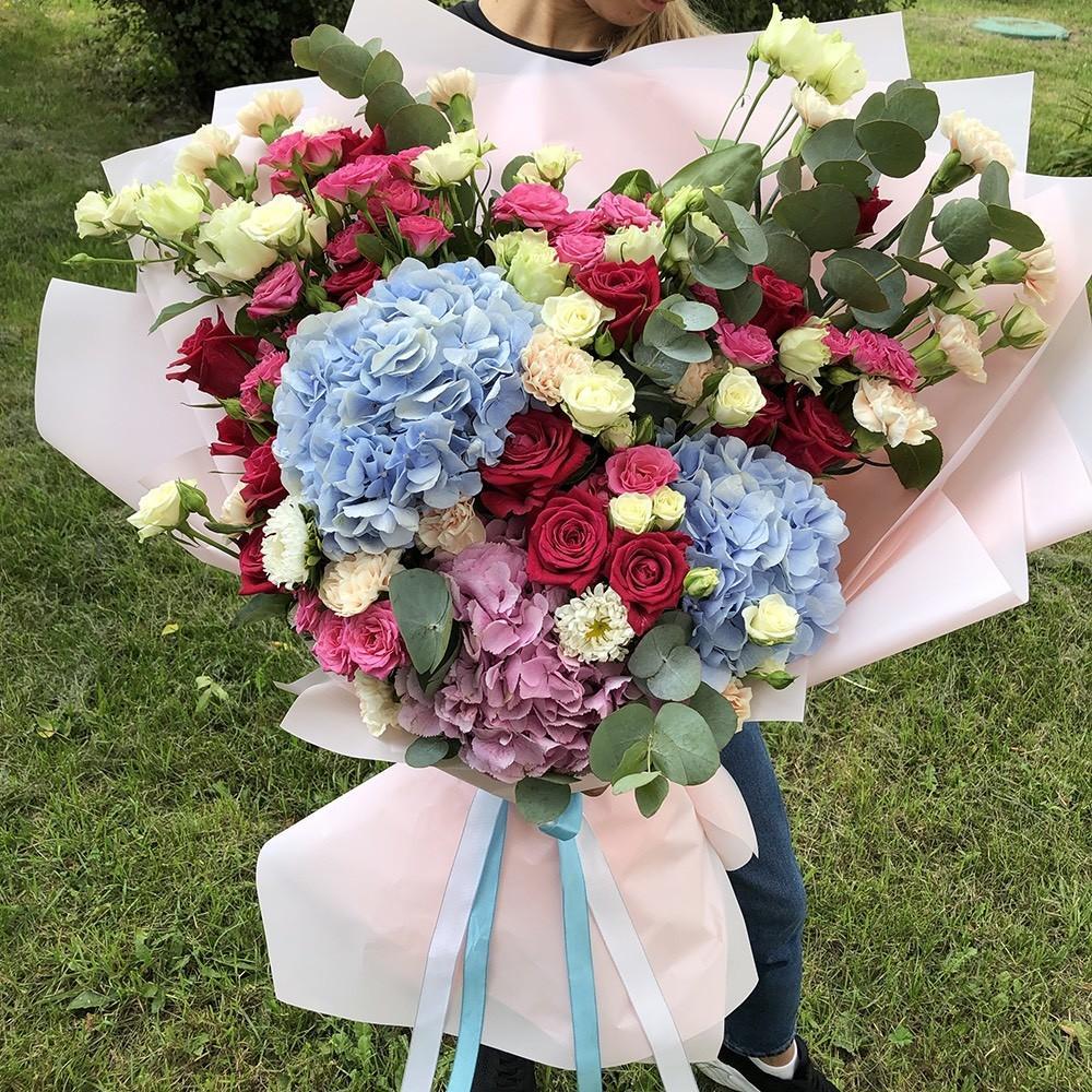 51 букет венецианская страсть Букет из 51 розы Розовые Venus in Fleurs