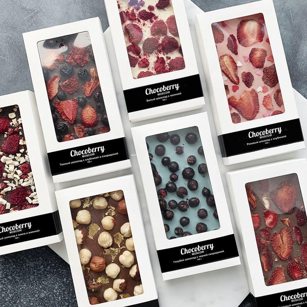 Бельгийский шоколад с ягодами Сладости Venus in Fleurs