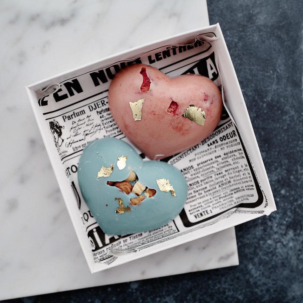 "Шоколад ""Два сердца"" Сладости Venus in Fleurs"