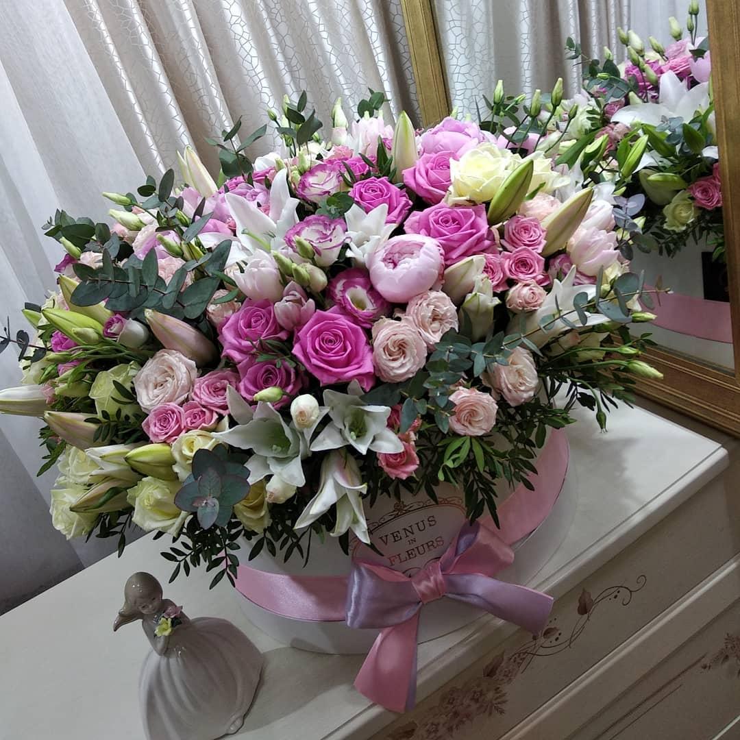 Люкс букет ВИП букеты Розовые