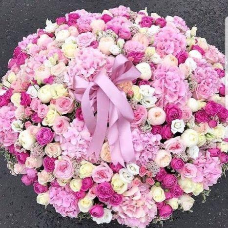 Букет в нежных тонах Корзины с цветами Розовые Venus in Fleurs