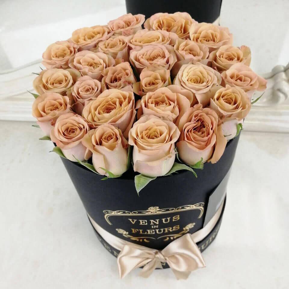 Кофейные розы Бизнес-букеты Кофейные Venus in Fleurs