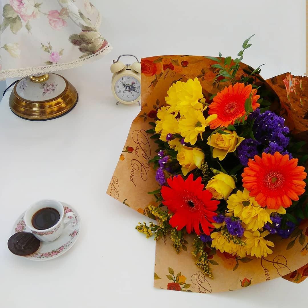 Букет на 1 сентября из гербер 1 сентября Желтые Venus in Fleurs