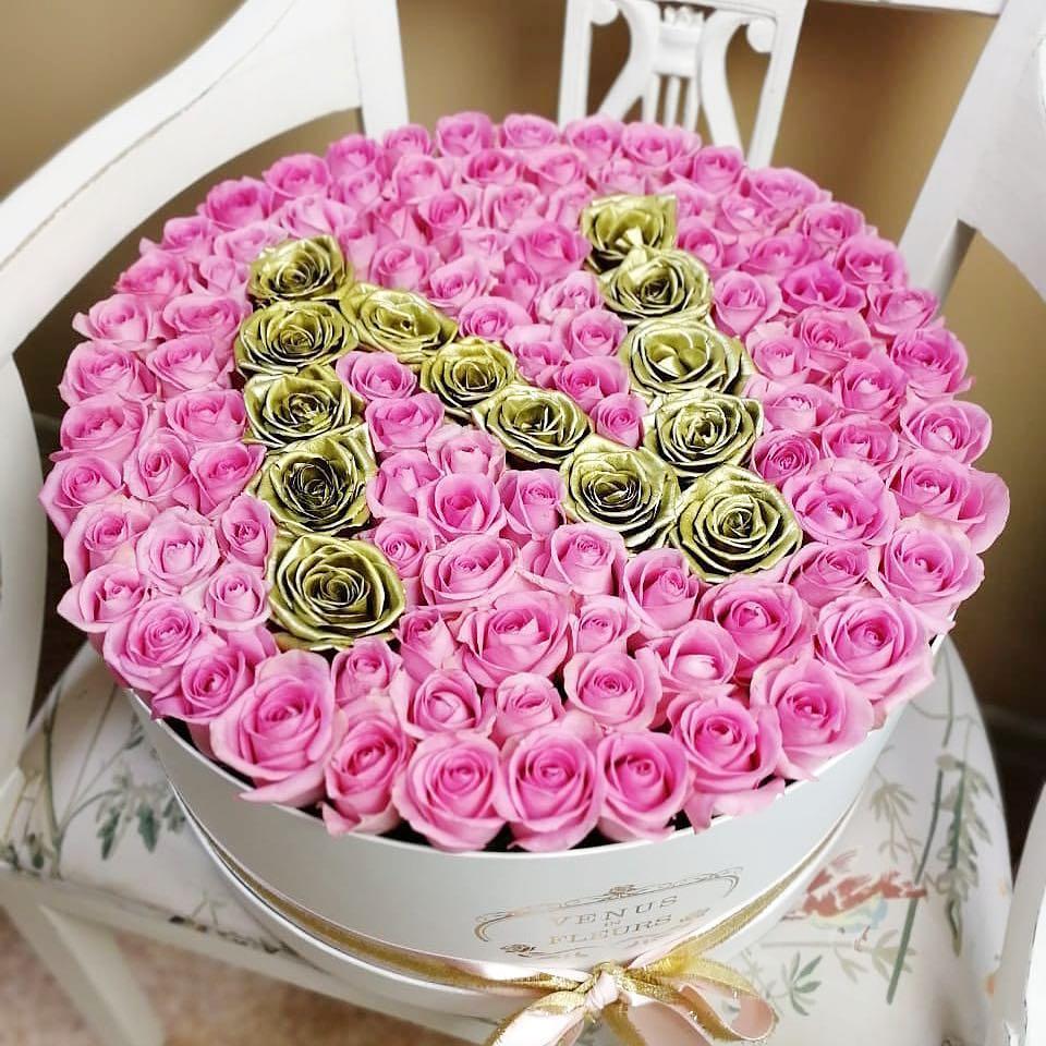 Букет на свидание Бизнес-букеты Розовые Venus in Fleurs
